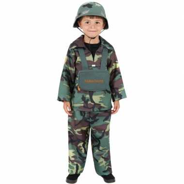 Carnavalspak soldaat kinderen