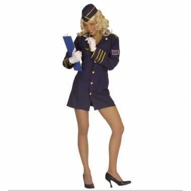 Carnavalspak Stewardess dames