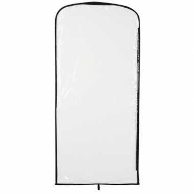 Carnavascarnavalspak hoes transparant 95 x 42 cm
