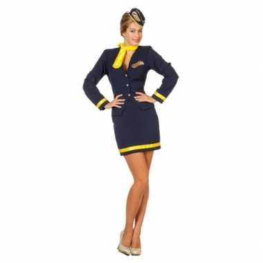 Dames Stewardess carnavalspak
