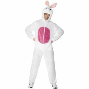 Dieren carnavalspak konijn volw