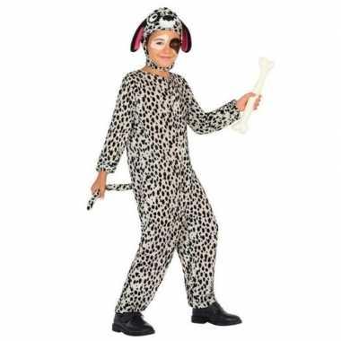 Dierenpak hond/honden verkleed carnavalspak dalmatier voor kinderen