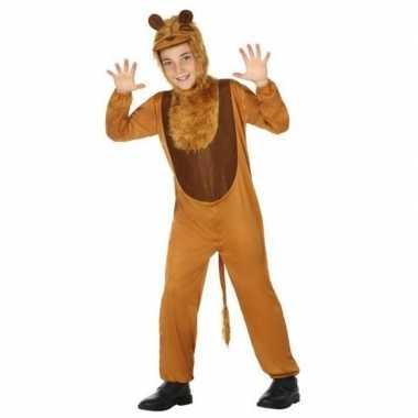 Dierenpak leeuw/leeuwen verkleed carnavalspak voor kinderen