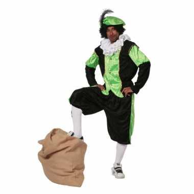 Groen zwarte pieten carnavalspak budget