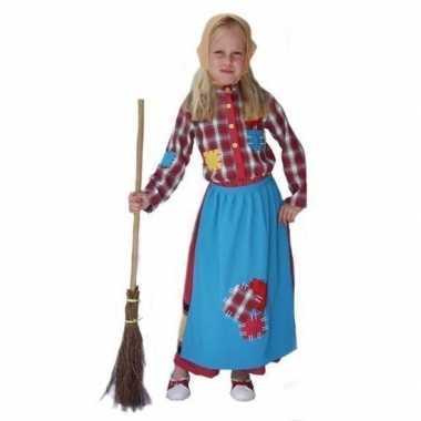 Halloween carnavalspak heks voor meisjes
