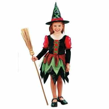Heksen carnavalspak meisjes