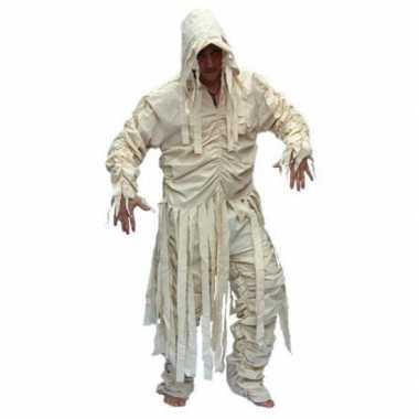 Heren mummie carnavalspak