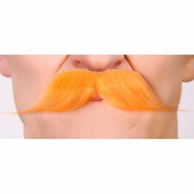 Oranje koningsdag carnavalspak accessoire plaksnorren