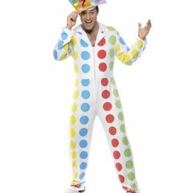 Twister carnavalspak voor mannen