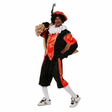 Voordelig Zwarte Piet carnavalspak