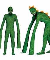 Carnavalspak reptielen monster voor volwassenen