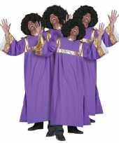 Gospel koor carnavalspak